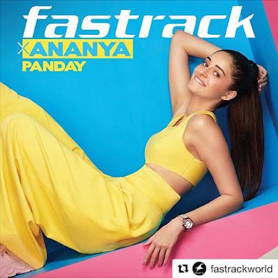 Ananya Panday modelling