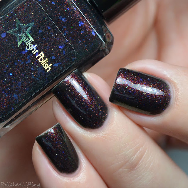 black unicorn pee nail polish