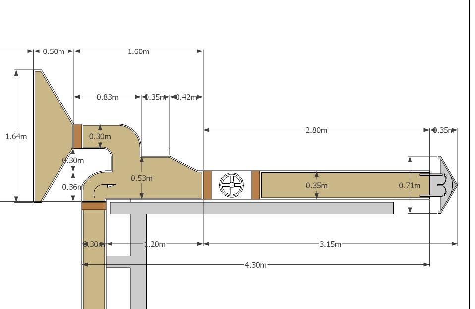 Gambar Desain Exhaust Dapur House Q