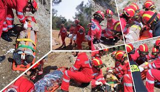 Με μεγάλη επιτυχία πραγματοποιήθηκε στην Λέσβο η άσκηση «ΔΙΑ-ΠΥΡΟΣ 2018» της Πυροσβεστικής Υπηρεσίας