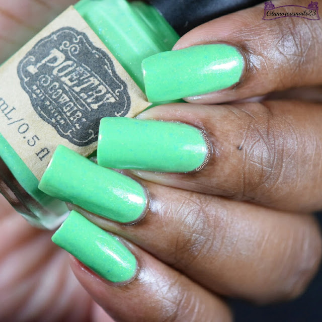Poetry Cowgirl Nail Polish Patty O'Green