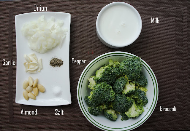 Broccoli Soup : Ingredients