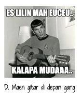 Malem Minggu Main Gitar