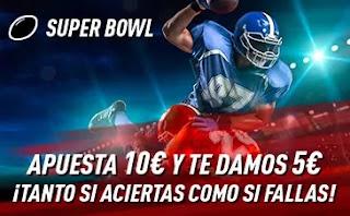 Sportium promo Final de la Super Bowl 8 febrero 2021