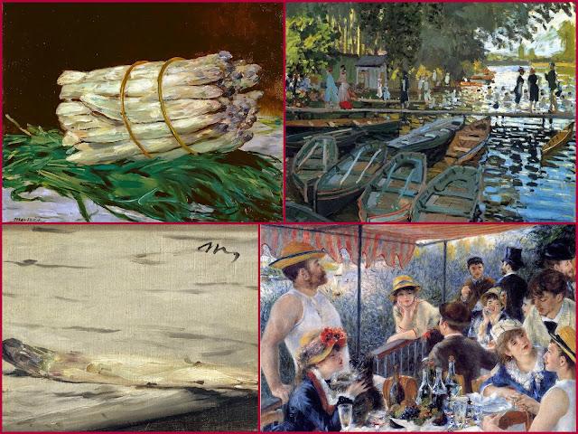 Impresionistas en la literatura, Pintura y literatura, Pissarro, Cezanne