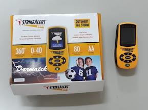 Darmatek Jual Strike Alert - HD Lightning Detector