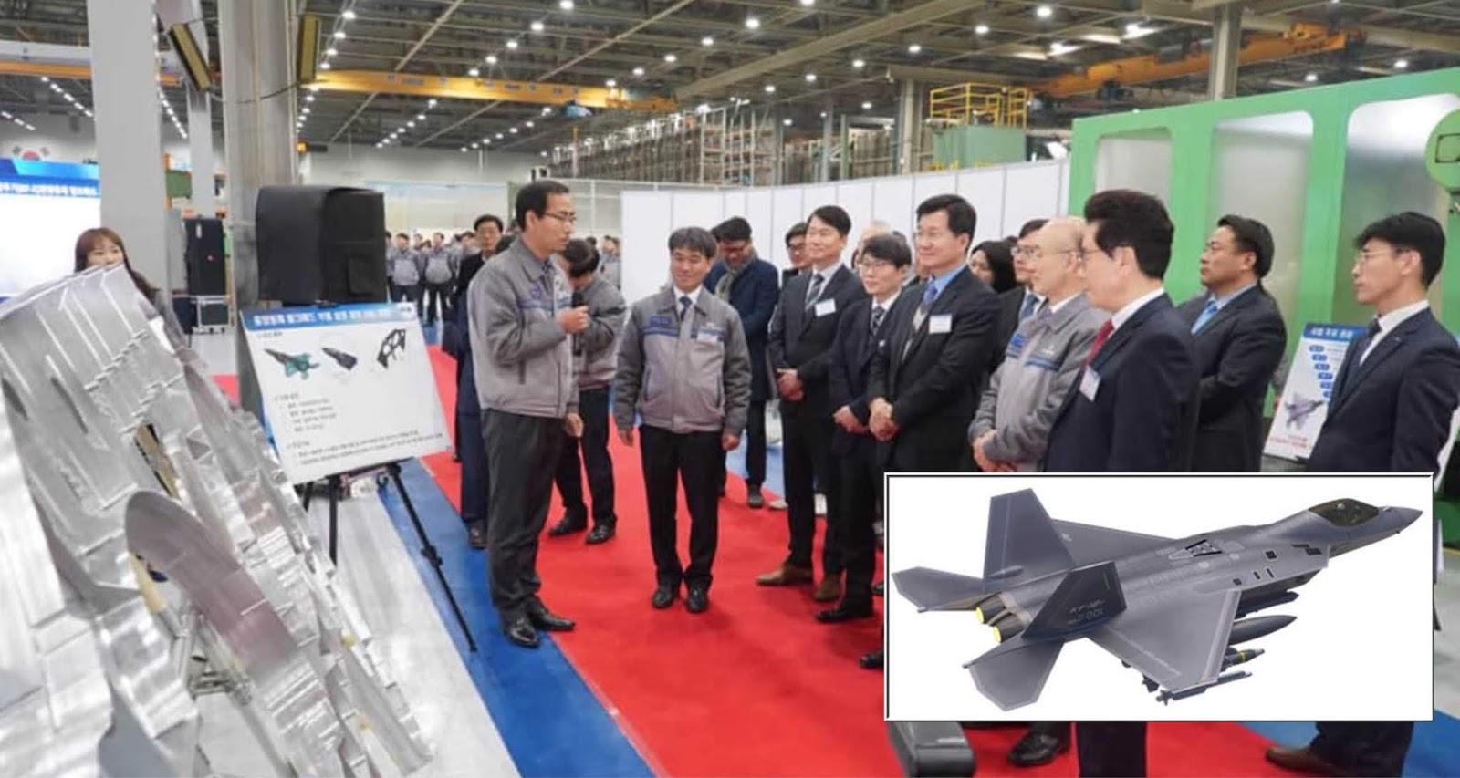 Korea Selatan mulai membuat bagian pertama untuk prototipe pesawat tempur KF-X