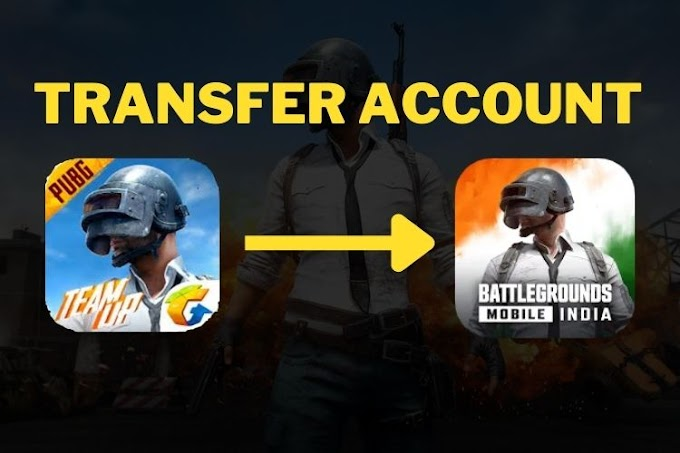 How to transfer PUBG Mobile Global to Battlegrounds Mobile India