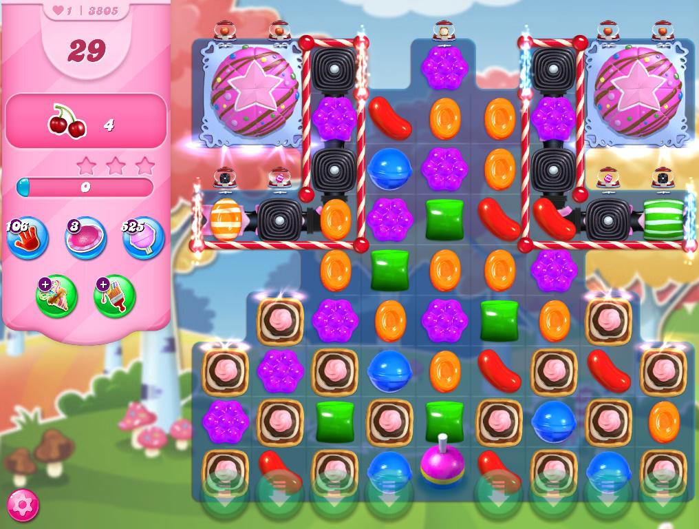 Candy Crush Saga level 3805