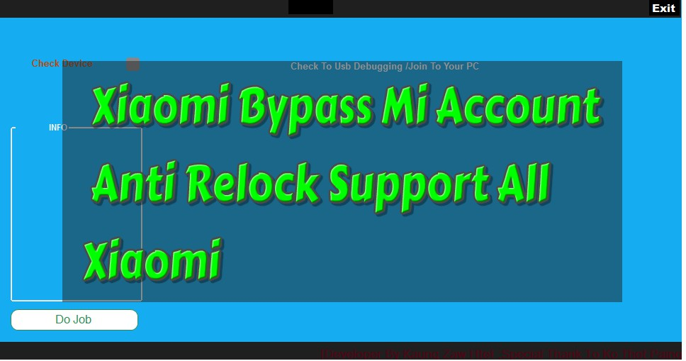 Xiaomi Bypass Mi Account Anti Relock Support All Xiaomi - All In One