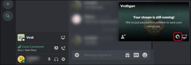 واجهة Discord Go Live