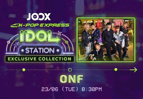 JOOX IDOL STATION MEMBAWAKAN SENSASI K-POP NU'EST DAN ONF LEBIH DEKAT DENGAN PEMINAT MEREKA DI SELURUH ASIA DENGAN PERSEMBAHAN EKSKLUSIF DAN SESI SEMBANG SECARA LANGSUNG!