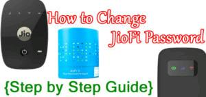 how to change jiofi password (step by step)
