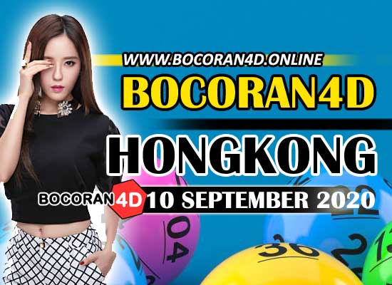 Bocoran 4D HK 10 September 2020