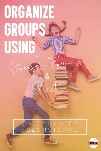 Huge time saver! Learn how to use Google Forms & Google Sheets for assessment data and to organize and group students!