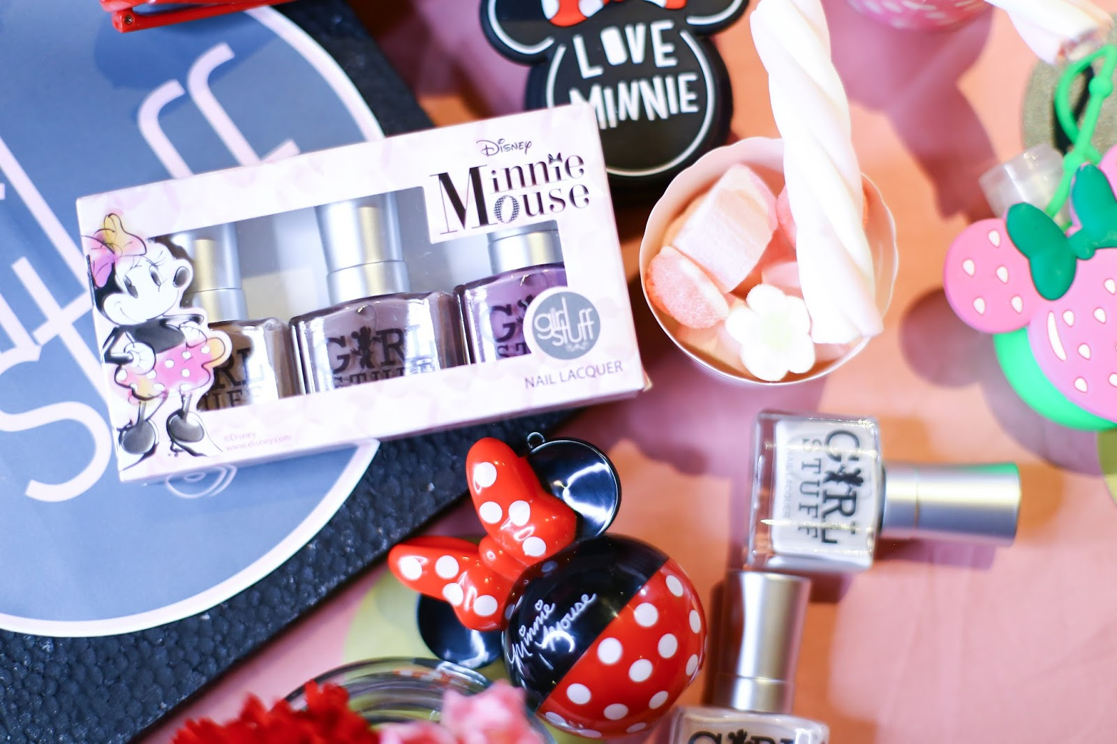 Rock the Dots with the Minnie Mouse Nail Lacquers by Girlstuff ...