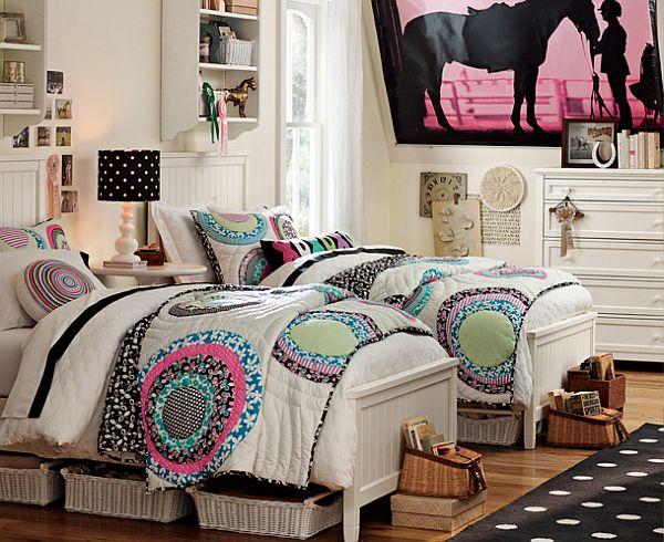 30 Room Design Ideas for Teenage Girls on Teenage Room Decor Ideas Girl  id=99740