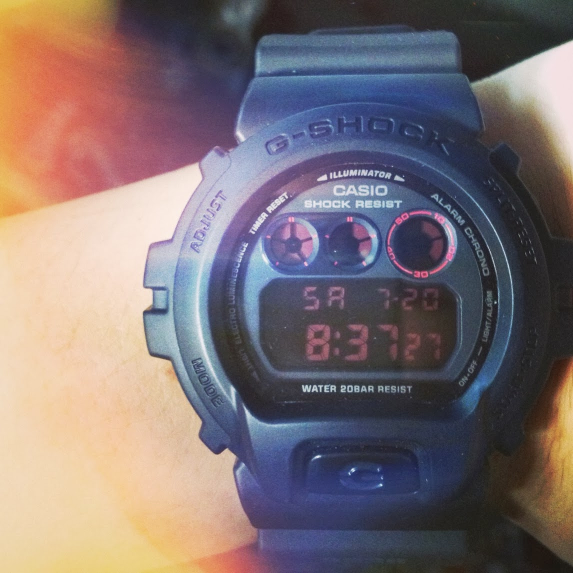 NEW WATCH! DW6900 G-SHOCK MILITARY