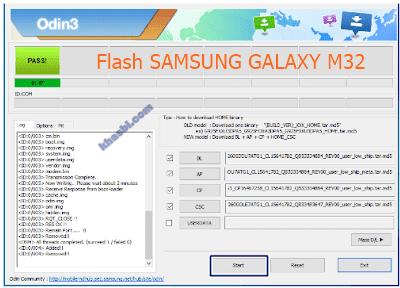 menambahkan file binary samsung m32