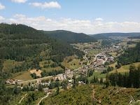 Die Aussicht von der Walterhütte bei Baiersbronn-Obertal