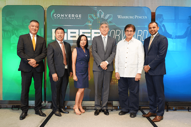 Converge ICT will allocate 250M US dollars investment for fiber expansion in the Philippines