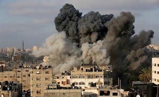 Rocket and Israel Bombing