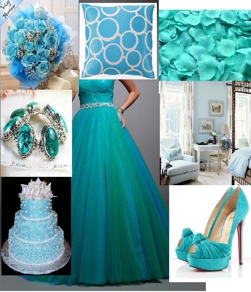 Warna Turqoise Tupun Saya Pilih Sebab Tertarik Dengan Pada Dress Ready Made Yang Beli Tapi Warnanya Agak Gelap Dan Nampak Macam Hijau