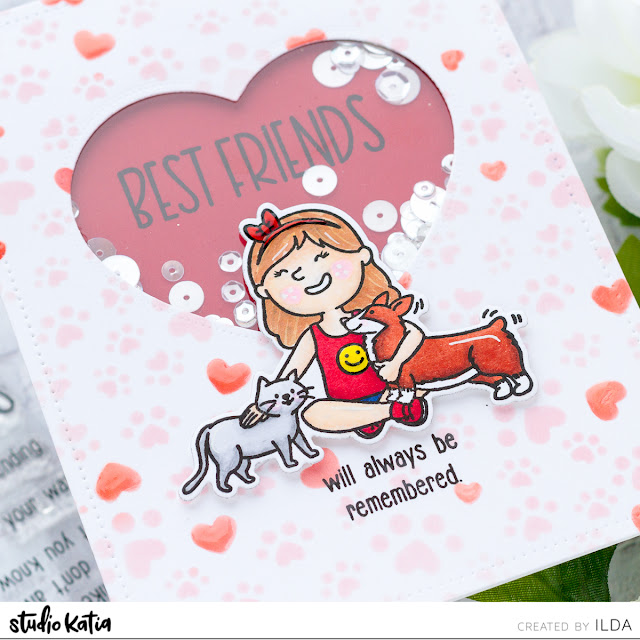 Paws for Kindness Blog Hop + Giveaway | Best Fur Friend Cards | Studio Katia by ilovedoingallthingscrafty.com