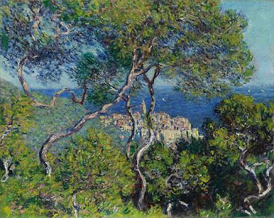 Claude Monet -  Vue de Bordighera,1884.