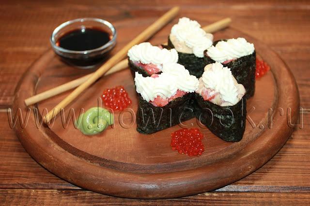 рецепт гункан-суши
