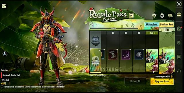 PUBG Mobile 1.4 Update Season 19 confirmed RP reward leaks