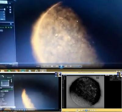 La sonda SOHO della NASA cattura il momento esatto di questa Anomalia, sarebbero i segni del cielo dove è descritto nella Bibbia
