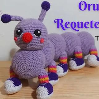 Amigurumi Oruga a Crochet