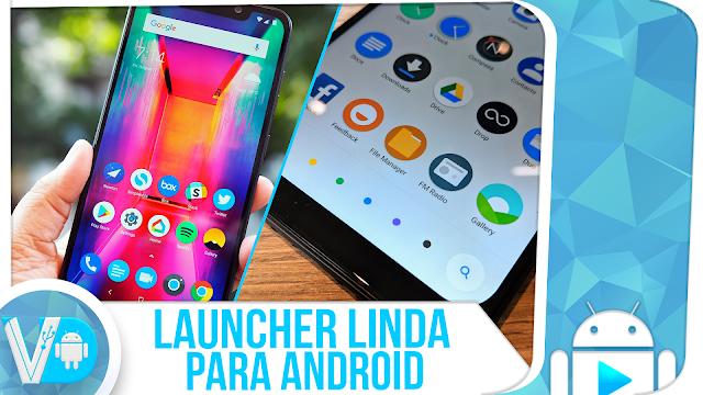 SAIU! Launcher LINDA, LEVE e ORGANIZADA (POCO LAUNCHER) para Android