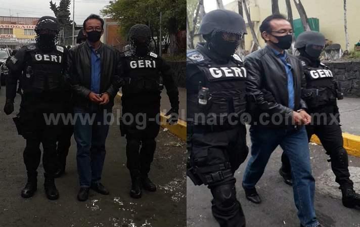 """Capturan al comandante Rangel acusado de proteger a Oscar Andrés Flores """"El Lunares"""" jefe de La Unión de Tepito"""