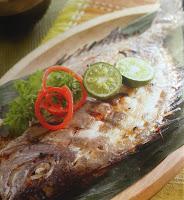 Gambar Resep Ikan Bakar Baronang