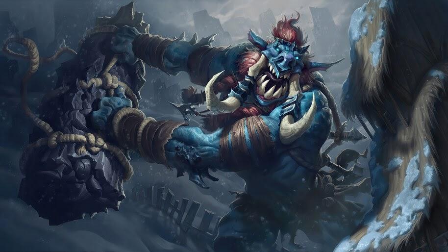 Troll Ravager, Freljord, Legends of Runeterra, 4K, #5.2690