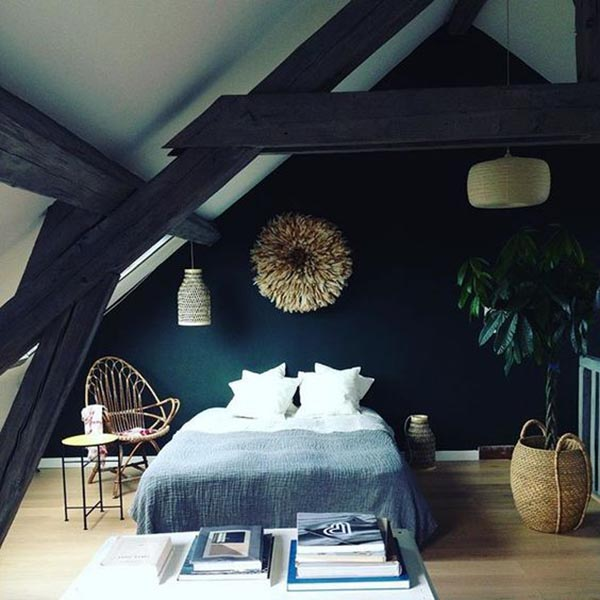 30 id es pour am nager ses combles blog d co mydecolab for Chambre parentale design