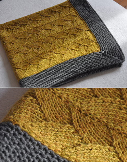 Brickstreet Blanket - Knitting Pattern