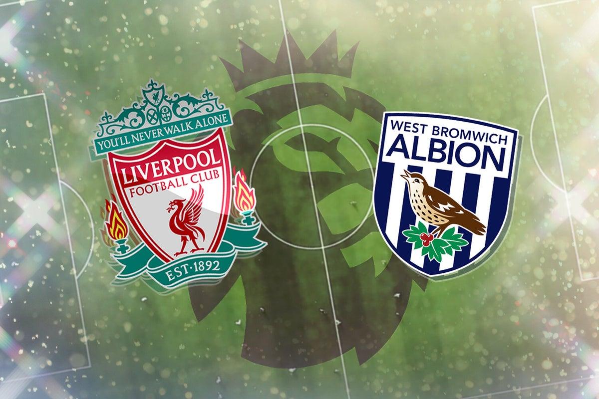 موعد مباراة ليفربول ضد وست بروميتش البيون والقنوات الناقلة في الدوري الإنجليزي