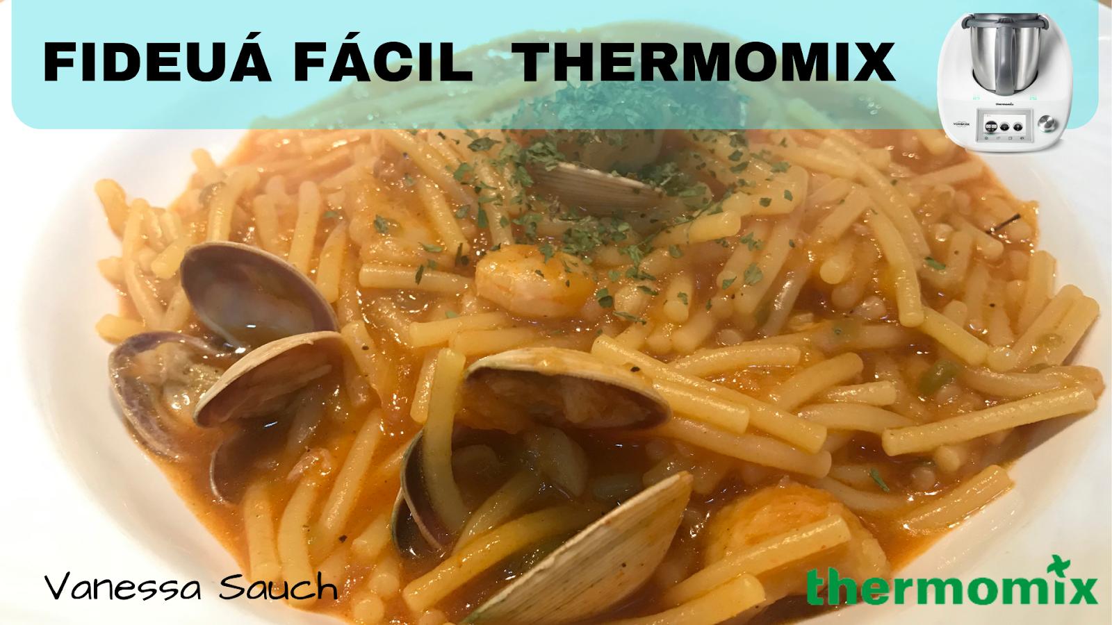 Fideuá Fácil En Thermomix