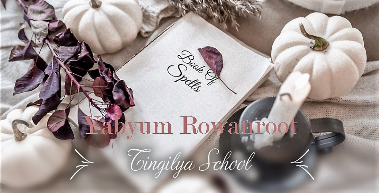 ☆☾ °Yabyum Rowanroot☾ TinGiLya ScHool : Magie, Runes et Féerie © all rights reserved☆Site Officiel