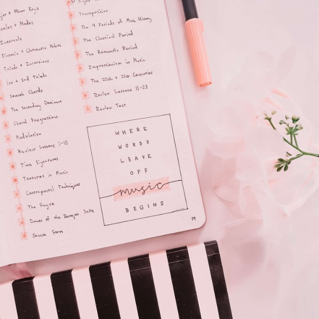Things I Wish I Had Known When I Started Bullet Journaling