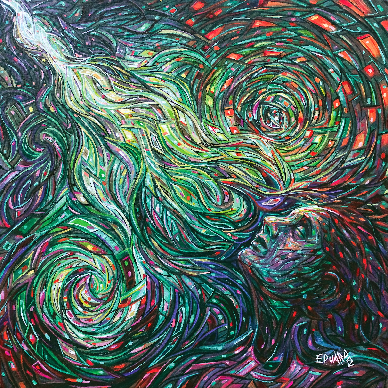 13-Mental-Image-Eduardo-R-Calzado-Paintings-in-Swirls-of-Colour-www-designstack-co