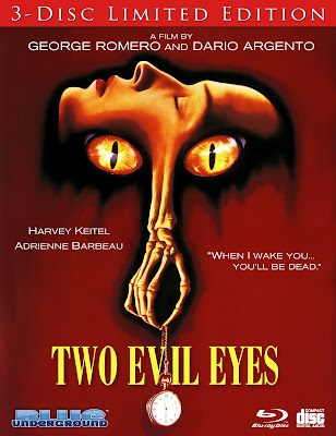 Blue Underground's TWO EVIL EYES 3 Disc Limited Edition 4K Restoration