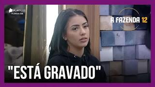 A Fazenda 12 – Lidi fala de Mirella – Raissa e Stéfani conversam – Lucas pede para Juliano indicá-lo à Roça