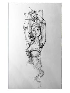 Tatuagens Desenho De Referência Fantoche Marionete Feminina