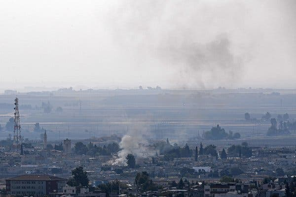الكُرد يتهمون تركيا بانتهاك الهدنة مع استمرار القصف في سوريا