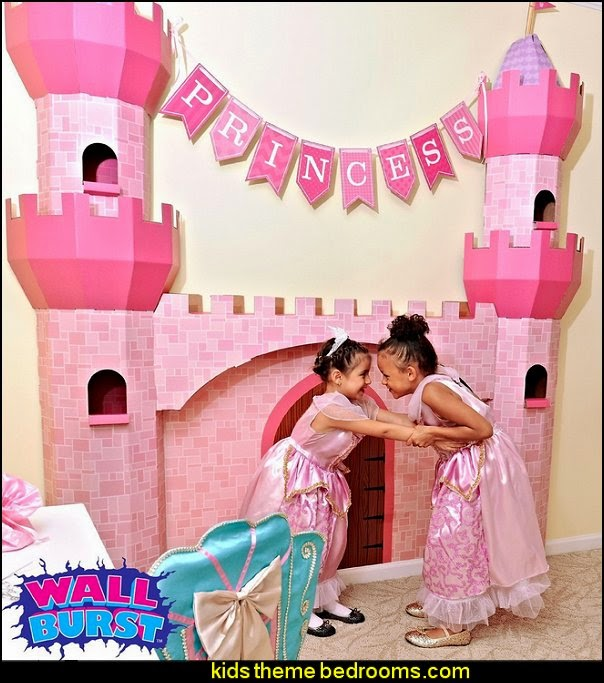 Castle Spire - Wall Burst-Cinderella party themed decorations - Cinderella costume - Cinderella Party decor