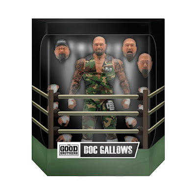Good Brothers Doc Gallows & Karl Anderson Wrestling Ultimates Deluxe Action Figures by Super7